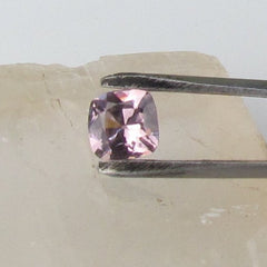 Purple Pink Spinel Cushion Shape for Engagement Ring or Fine Jewelry Morgnite Alternative