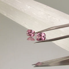 Matching Purplish Pink Spinels 1.52cts Total Weight