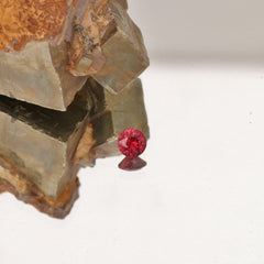 0.90cts red ruby