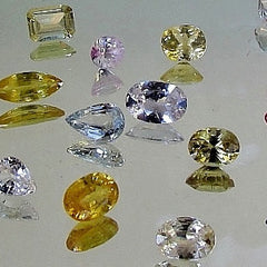 Sapphire Lot 16.80 Carats Loose Gemstones Pink, Blue, Yellow Sapphire for Gemstone Jewelry