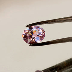 Purple Pink Spinel Oval  Fine Loose Gemstone for Engagement Ring Anniversary Ring Morganite Alternative