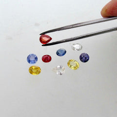 Sapphire Gemstone Lot Sale 6.48 cts for Jewelry Makers and Hobbyists September Birthstone