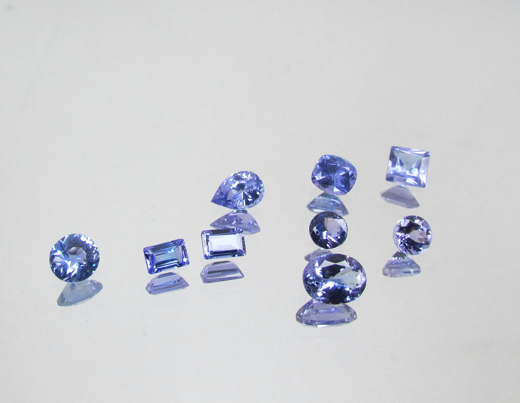 state product loose tanzanite auctions first gia certified