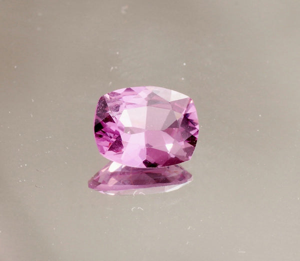 Purple Pinkish Color Spinel Cushion Shape for Engagement Ring or Fine Jewelry Sapphire Alternative