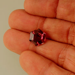 Tourmaline Hexagon Shape Over 5 Carats for Engagement Ring October Birthday or Fine Jewelry