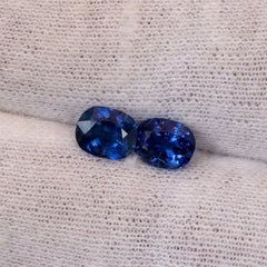 Blue Sapphires for Earrings September Birthstone
