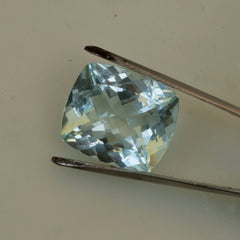 wholesale fine  cushion aquamarine