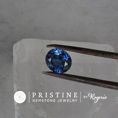 Loose Blue Sapphire Oval Shape Over 2 Carats Natural Gemstone