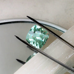 cushion Paraiba tourmaline