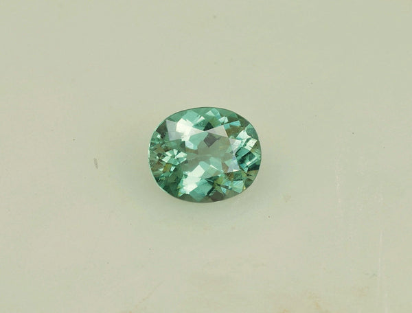 Paraiba Type Tourmaline Cushion Shape Over 6 carats from Mozambique Loose Gemstone for Fine Jewelry