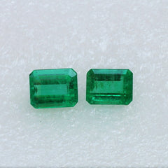 loose brazilian emeralds