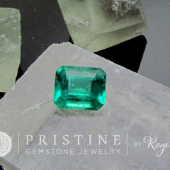 Emerald May Birthstone Loose Gemstone for Jewelry