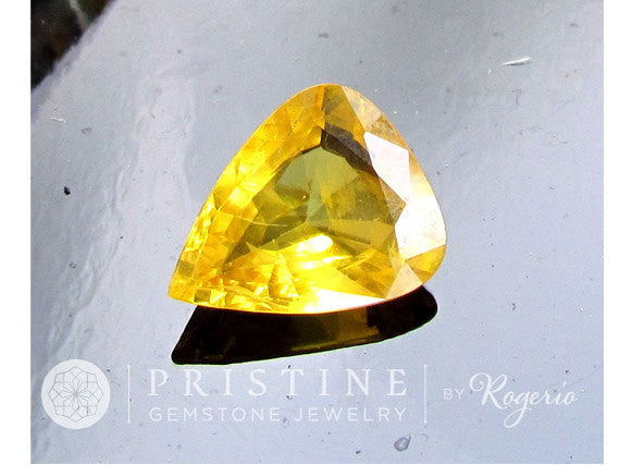 Canary Yellow Sapphire Pear Shape 13 x11 mm at Wholesale Price