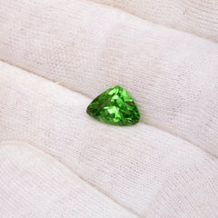natural loose green garnet