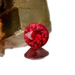 natural red ruby
