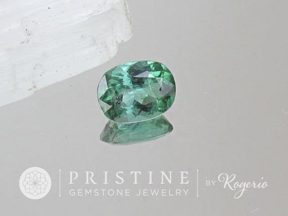 Paraiba Color Tourmaline Precision Cut Gemstone for Fine Jewelry