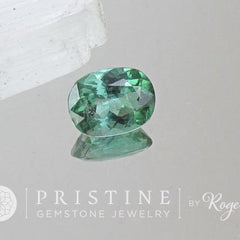 loose blue green tourmaline