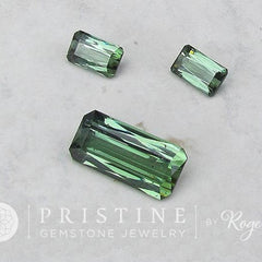 Paraiba Type tourmaline set