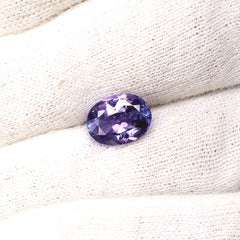 Tanzanite Oval Fine Gemstone December Birthstone for Fine Jewelry Ring or Pendant
