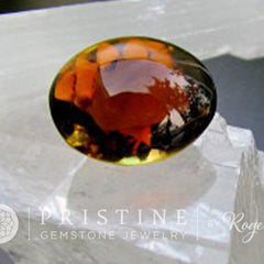 watermelon tourmaline oval shape