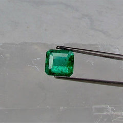 Emerald May Birthstone Emerald Cut Shape Loose Gemstone for Custom Emerald Jewelry