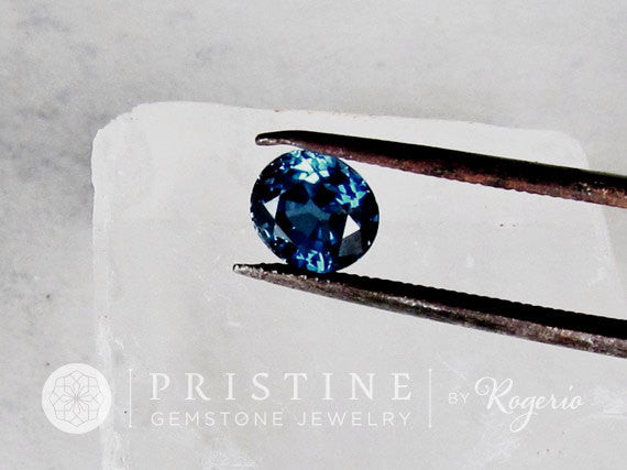 Loose Blue Sapphire Oval Shape Over 2 Carats Natural Gemstone for Fine Custom Gemstone Jewelry