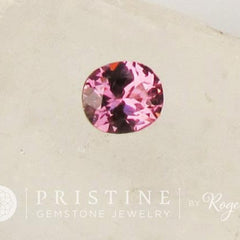 Purple Spinel Short Oval Loose Gemstone for Fine Gemstone Engagement Ring Weddings Anniversary Ring