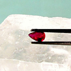 Ruby Red Pear Shape Gemstone for Engagement Ring or Wedding Anniversary Ring July Birthstone Gemstone Jewelry