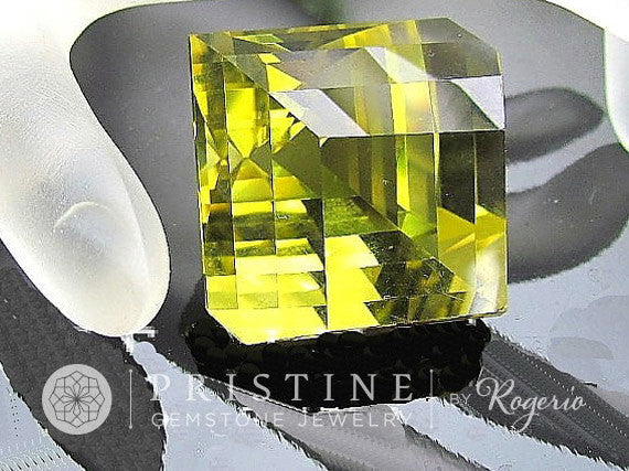 The Illusion Cut by Rogerio Graca 113cts Lemon Citrine