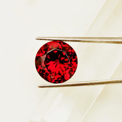 Portuguese Cut Garnet Over 12 Carats Loose Gemstone for 14K Gold Jewelry Ring or Pendant January Birthstone