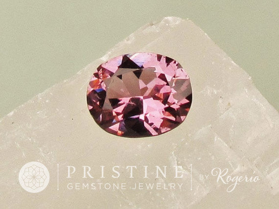 Purple Raspberry Spinel Over 3.5 cts Alternative to Sapphire Genuine Loose Gemstone for Fine Jewelry
