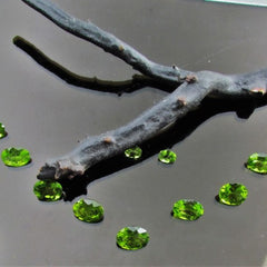 Peridot Set for Necklace Over 86 Carats Oval Shape August Birthstone