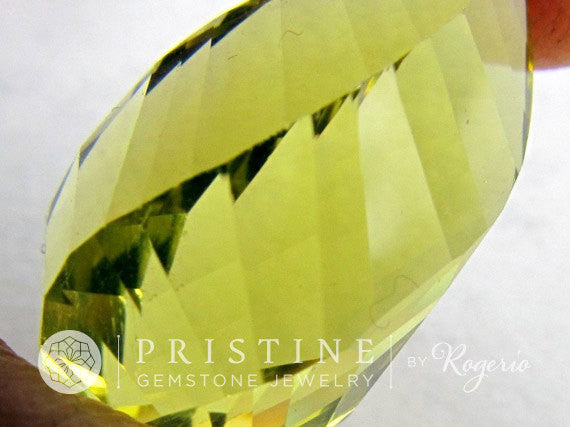 Lemon Citrine Twisted Briolette Fancy Cut Wholesale Gemstone for Pendant November Birthstone