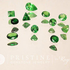 Tsavorite Green Garnet Parcel Inventory Clearance Loose Gemstones January Birthstone for Jewelry