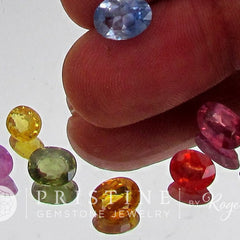 Sapphire Lot Sale 10.93 cts tw Loose Gemstones  Pink, Orange, Yellow Sapphire for Gemstone Jewelry