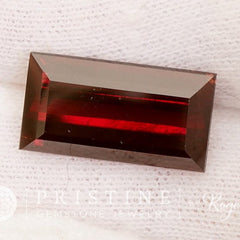 Red Garnet Rectangle Shape Over 11 Carats January Birthstone Gemstone Jewelry