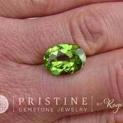 large loose peridot