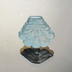 Aquamarine carving March Birthstone Gemstone for Pendant or Fine Jewelry