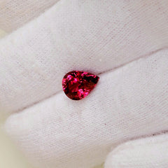 Cherry Sapphire 1.90ct Pear Shape Loose Gemstone