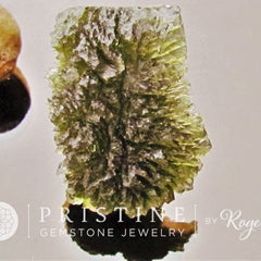 Moldavite Over 80 Carats Rare Gemstone Collector Piece Meteorite Origin