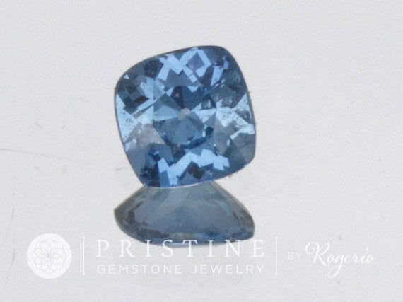 Cushion Ceylon Natural Blue Sapphire Precision Cut Loose Gemstone
