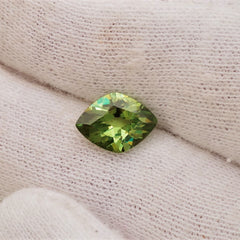 Demantoid Garnet Fancy Cut Fine Engagement Ring and Fine Jewelry January Birthstone Loose Gemstone