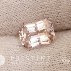 Blush Pink Sapphire Radiant Cut 1.80 cts for Engagement Ring or Wedding Anniversary