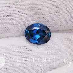 Loose natural sapphire