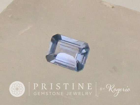 Natural Blue Sapphire Emerald Cut Shape Wholesale Price