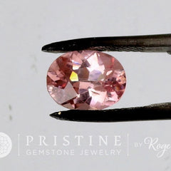Natural Pink Spinel Oval Loose Gemstone for Engagement or Anniversary Ring Morganite Alternative