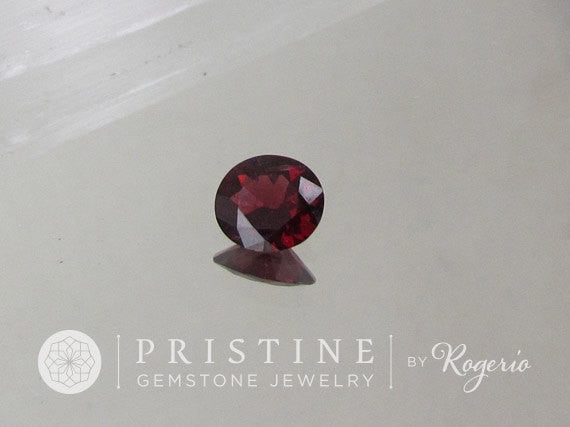 Red Spinel  2.66 Carats Oval Very Fine Loose Gemstone for 14K Gold Ring or Fine Jewelry