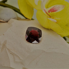 Red Spinel Cushion Shape Practically 5 Carats Loose Gemstone for 14K Gold Ring or Fine Jewelry