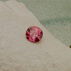 loose natural pink tourmaline