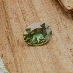 Oval green sapphire wholesale price